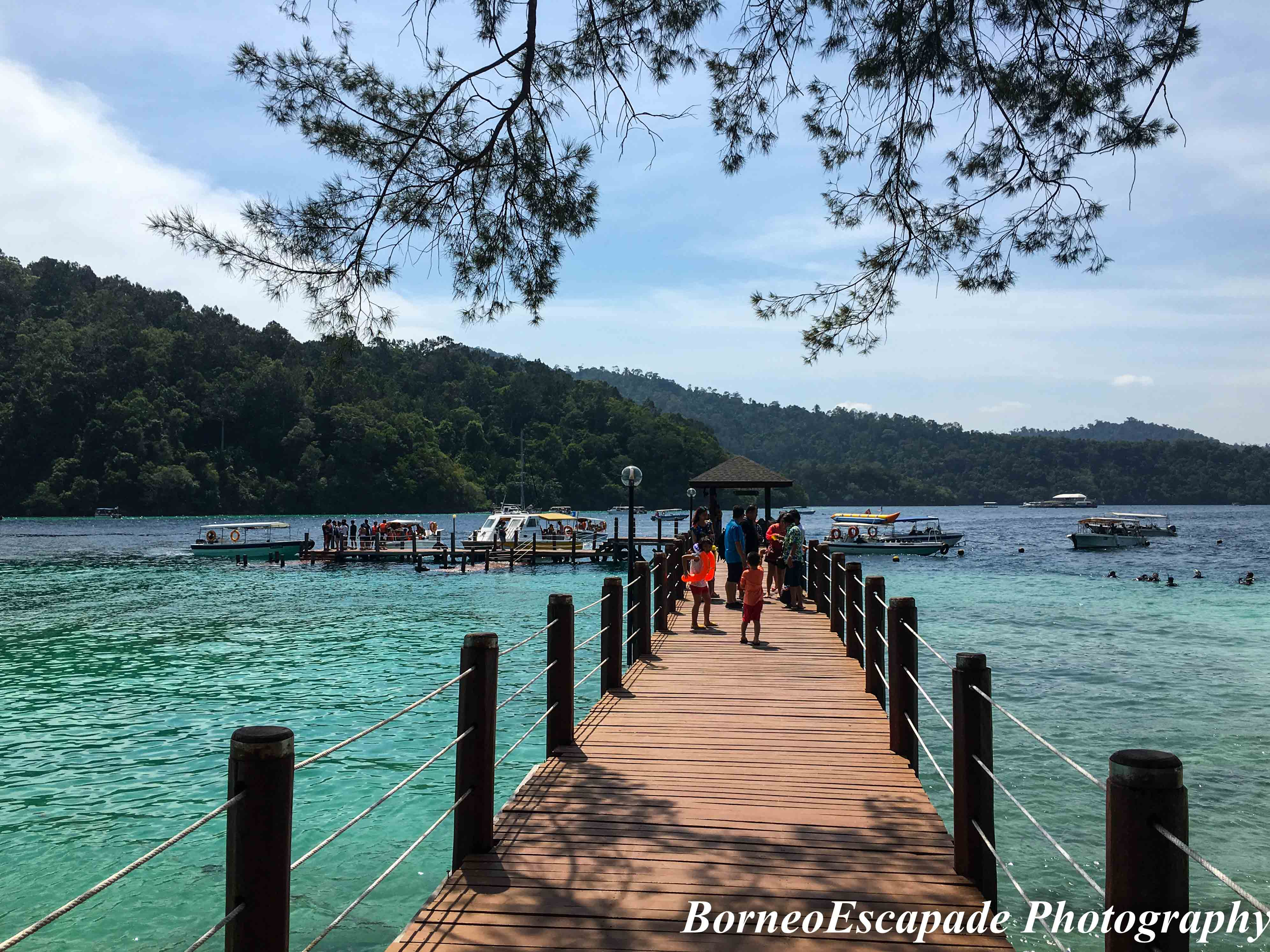 Sapi Island main jetty.